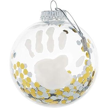 Baby Art My Christmas Fairy Boule de Noël avec kit empreintes de