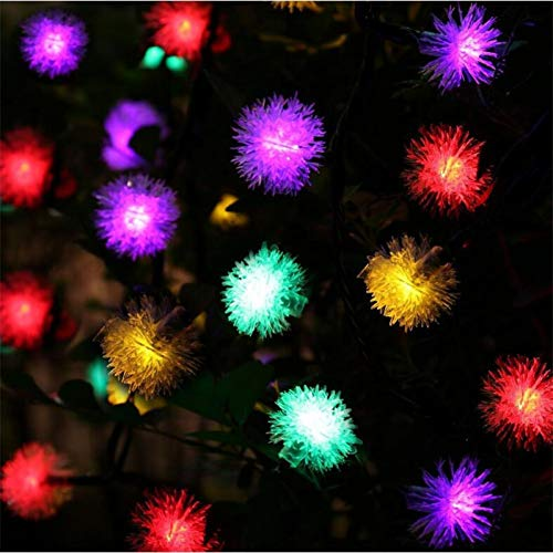YCEOT Solar LED Ball String Light 20 LED Solar Lamp Power LED Lichtsnoer Solar Power slinger tuin voor kerstdecoratie