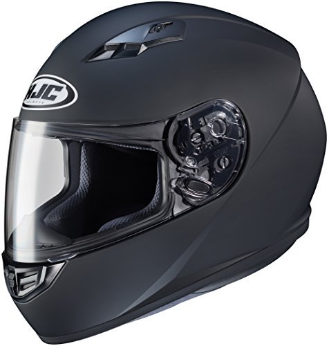 HJC CS-R3 Full Face Motorcycle Helmet Matte Black (XL) by HJC Helmets