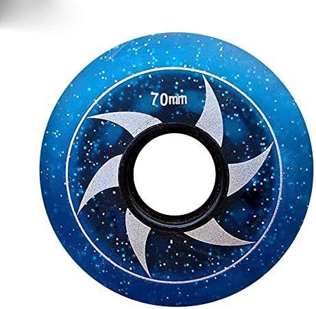 FZYJ Inline Skate Wheels, 85A Beginner Kids Skate Wheel 64Mm 68Mm 70Mm Hockey Inline Roller Skates And Luggage Suitcase For Kids Teens Wheels Beginner Skate Replacement Wheel 8-Pack
