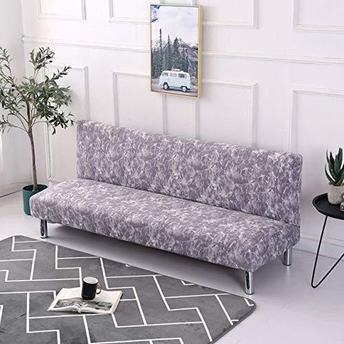 WEDZB Funda de sofá,Sin apoyabrazos Funda de sofá Cama Funda de sofá con Todo Incluido Funda Plegable para sofá Cama Fundas de sofá para Sala de Estar, Color 7, L 160,190 cm