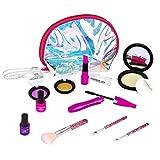 welltop Maquillaje Conjunto niños 11 Piezas Lavable Maquillaje cosmético Set niñas Juego de rol Regalos de Juguete para los niños de 3 años