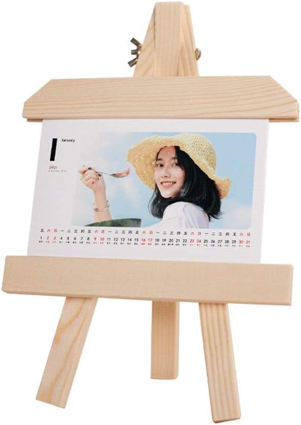 HJHJ Portable Desk Calendar 2021 A-Frame S Easel Clearance SALE Limited time 25% OFF Tripod