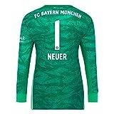 FC Bayern München Kinder Torwart Trikot 2019/20, Manuel Neuer, Größe 164