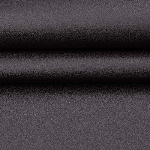 MAGFYLY Cuero Material Cuero sintético de Vinilo Tela Cuero sintético for Tapizar Tapicería Manualidades Cojines o Forrar, por Metro X 138 cm de Ancho