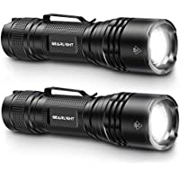 2-Pack GearLight Tac LED Tactical Flashlight