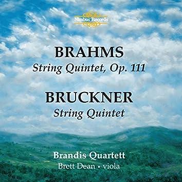 Brahms: String Quintet, Op. 111 - Bruckner: String Quintet