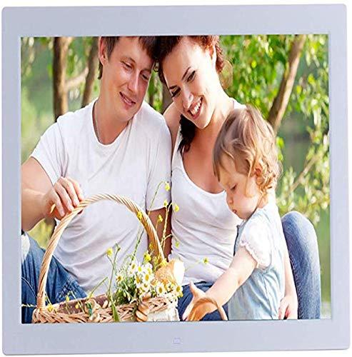 ZWFS 19-inch digitale foto-frame LED-scherm 1080P High Definition Video Broadcast 1366 * 768 High Resolution-versterker ondersteunt USB en SD-kaartslot en afstandsbediening