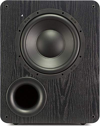 SVS PB-1000 Subwoofer (Black Ash) 10-inch Driver 300-Watts RMS Ported Cabinet