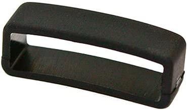 Cuir De Lyon PERFIT Black Rubber Replacement Watch Band/Strap Loop