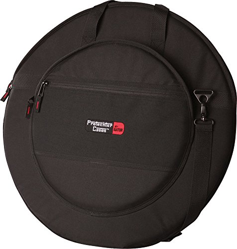 Gator Cases Protechtor Series Cymbal Slinger Gig Bag; Holds (8) Cymbals up to 22' Diameter (GP-12)