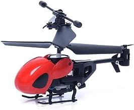 GRTVF Nuevo Mini Helicóptero Drone Resistencia 2CH a Bloqueo de Control del avión 2 Canales de Control Remoto avión de Juguete for los niños y Regalo for Adultos a Distancia Radio