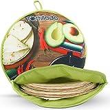Tortillada – 30cm Calentador De Tortillas/Contenedor Para Microondas Hecho De Algodón/Poliéster