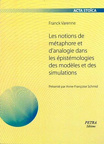Les notions de métaphore et d'analogie dans les épistémologies des modèles et des simulations