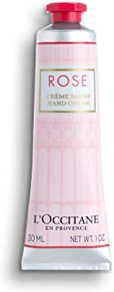 L'Occitane Moisturizing Rose Hand Cream Enriched with Shea Butter, Net Wt. 1 oz.
