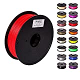 Pxmalion PLA 3D Printer Filament, Red, 1.75mm, Accuracy +/- 0.03mm,...