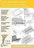 Futon, Futonbett selber bauen: 213 Patente zeigen wie es geht!