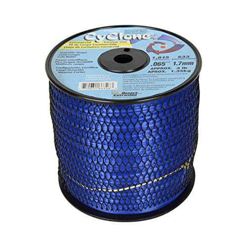 Cyclone .065-Inch 3-Pound Spool Commercial Grade 6-Blade Grass Trimmer Line,...
