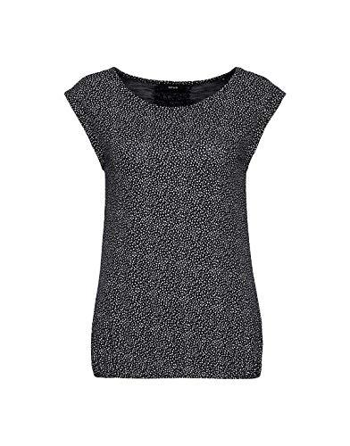 OPUS Damen Strolchi dot T-Shirt, just Blue, 40