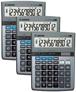 キヤノン 電卓 千万単位 大型 HS-1220TUG×3