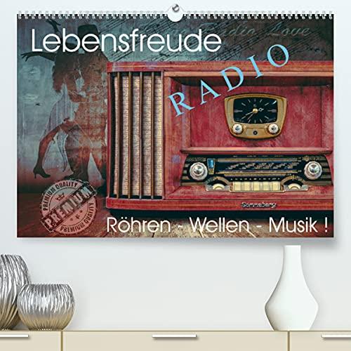 Lebensfreude Radio (Premium, hochwertiger DIN A2 Wandkalender 2022, Kunstdruck in Hochglanz): Nostalgische Radiogeräte - alt aber schön für das Auge ... 14 Seiten ) (CALVENDO Technologie)