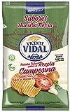 Vicente Vidal Desde 1931 Patatas Fritas. Receta Campesina. Caja de 9 unidades x 130g