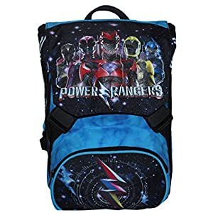 51u6QzbH5oL. SS300  - Mochila Extensible - Power Rangers - Cartera Escolar Azul Negro 31Lt