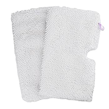 F Flammi 2 Pack Microfiber Steam Mop Replacement Pads for Shark Steam Pocket Mop S3500 Series S3501 S3601 S3550 S3901 S3504AMZ SE450 S3801CO S3601D S2901 S2902