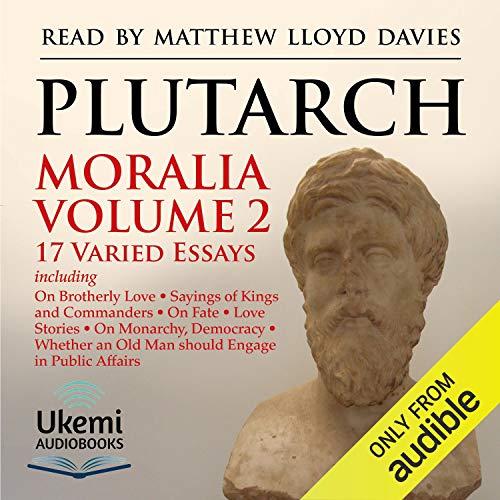 Moralia: Volume 2  By  cover art