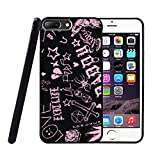 Cry Baby Lil Pe-ep Cool Case for iPhone 7 Plus & iPhone 8 Plus,Shock-Absorption Bumper Flexible TPU Protective Phone Cover Cases Black