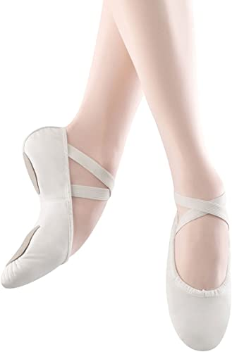 Bloch Dance Woherren Prolite II Leather Ballet Slipper, Weiß, 2.5 B US