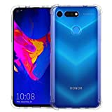 CRESEE Coque Honor View 20, [Coins Air Cushion] Étui Housse de Protection Transparent Antichoc...