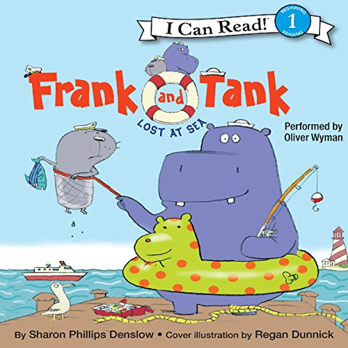 Frank and Tank: Lost at Sea audiobook cover art