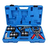 Piston Ring Compressor Kit Professional Piston Ring Service Tool Set Auto Engine Motor Cleaning Ring Expander Compressor