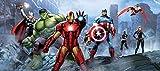 AG Design FTDh 0628 Avengers Marvel, Papier Fototapete