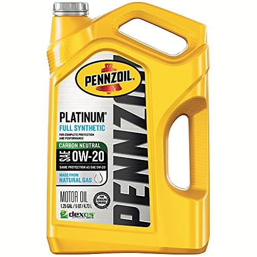 Pennzoil 550046127 Platinum Full Synthetic Motor Oil