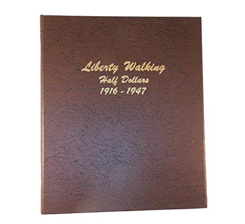 Dansco US Liberty Walking Half Dollar Coin Album 1916 – 1947 #7160