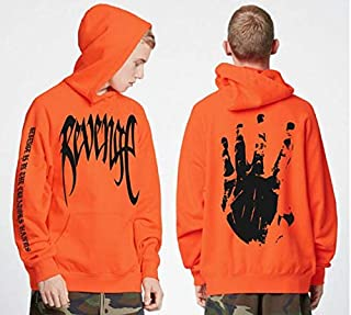 4aM Revenge Letter Print hoodie Sweatshirts Xxxtentacion hoodies Sad Rapper Hip Hop Hooded Pullover Swag Cotton Hoody Sweatshirt