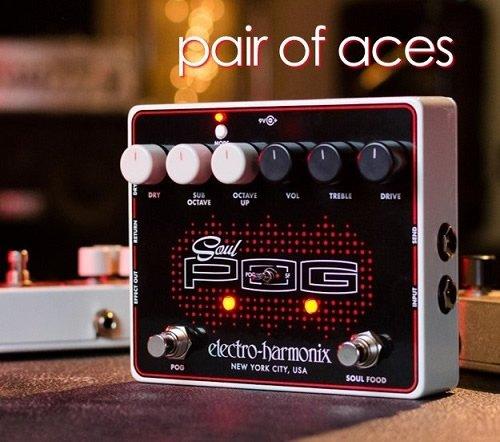 Electro Harmonix 665239efecto de guitarra eléctrica con sintetizador Filtro Soul Pog