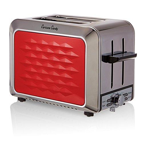 Fortune Candy 2-Scheiben Edelstahl-Toaster