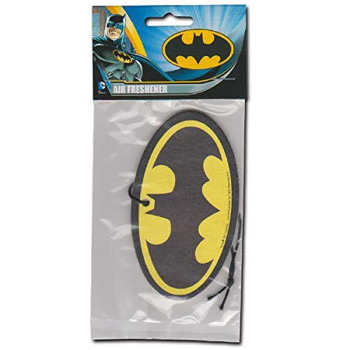 Batman Logo Air Freshener バットマン ロゴマークのエアフレッシュナー(レモンの香り)
