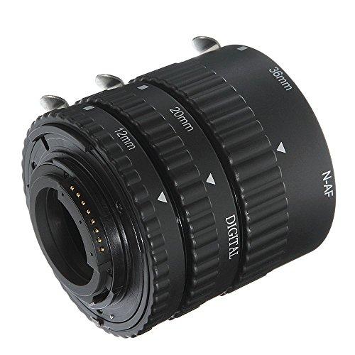 FOTGA Auto Focus Macro Automatico tra Anelli Tubo prolunga per Fotocamera DSLR Nikon D80D90D3100D5200D5300D5500D7000D7100D610D750D810A D850
