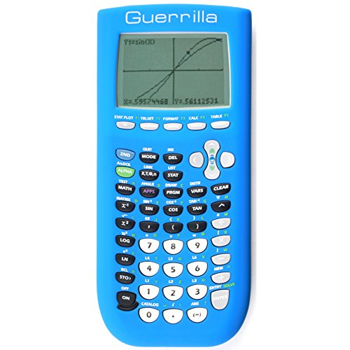 Guerrilla Silicone Case for Texas Instruments TI-84 Plus Graphing Calculator, ( case only) Photo #5
