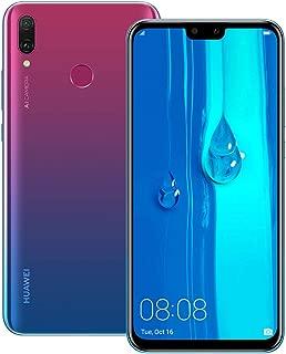 Huawei Y9 2019 (JKM-LX2) 4GB / 64GB 6.5-inches LTE Dual SIM Factory Unlocked (International Version) (Aurora Purple)