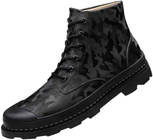schuhe Martin Stiefel High Help Tooling Para Hombre Calzado Casual Calzado Retro De Invierno Impermeable schuhe Para Escalar