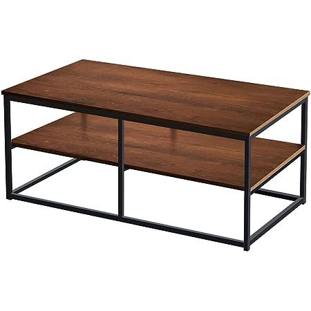 AZ L1 Life Concept Modern Coffee Table, 1pc, Dark Oak/1PC