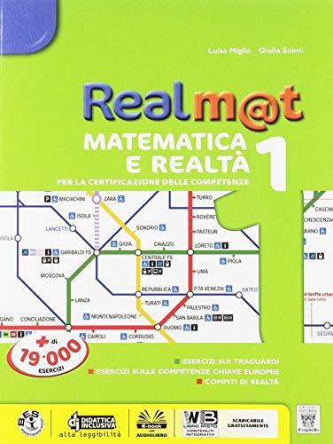 Realm@t. Aritmetica, geometria, matematica. Con tavole. Per la Scuola media. Con ebook. Con espansione online: 1