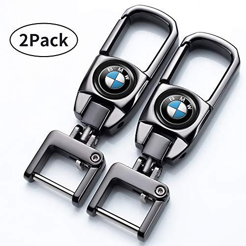 Jazzshion Car Key Fob Key Chain Keychain for BMW X1 X2 X3 X4 X5 X6 M135i M235i M240i Z4 328i X 7 Series