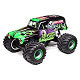 Losi RC Truck LMT 4WD Solid Axle Monster Truck RTR (Battery and Charger Not Included), Grave Digger, LOS04021T1