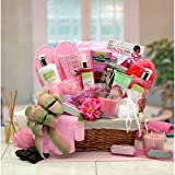 Total Spa Day - Spa Gift Basket - Makes a Perfect Mothers Day, Birthday or for Any Occasion